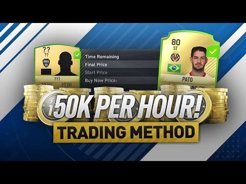 50K PER HOUR! - THE BEST FIFA 17 TRADING METHOD!