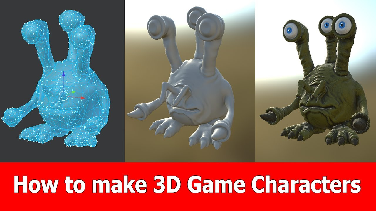 3d video game characters having some fun 9 1