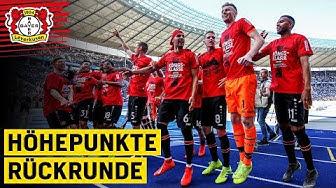 Der Weg in die Champions League | Höhepunkte der Rückrunde | Bayer Leverkusen 2018/19