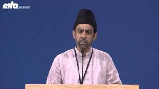 Poem: Kis Qadar Zahir Hay Nuur -  at Jalsa Salana USA 2013