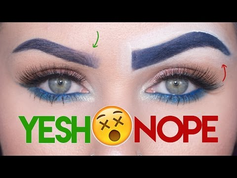 Eyebrows 101: Makeup Mistakes & Tips     KristenLeanneStyle