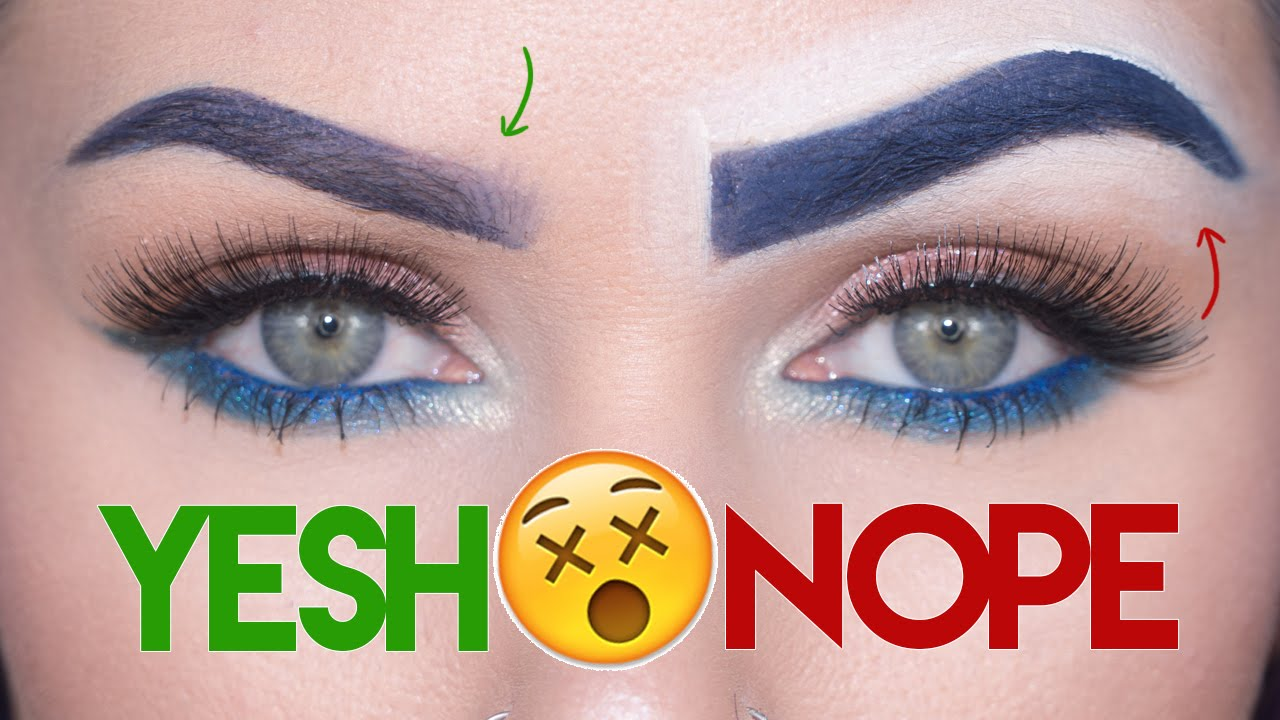 Eyebrows 8: Makeup Mistakes & Tips  KristenLeanneStyle