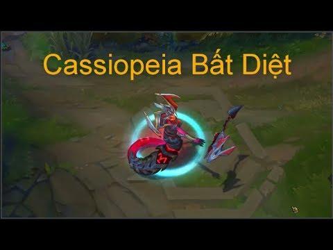 [LOL] Trang Phục Cassiopeia Bất Diệt mới 2017 sắp ra mắt – Skin Cassiopeia 2017