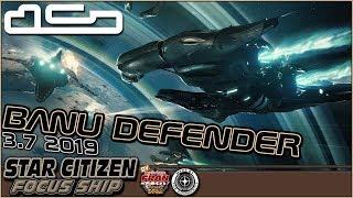 Star Citizen [FR] Focus Ship Banu Defender (subtitles)