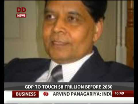 Indian eco to grow up to 8-trillion US$ within next 15 years: Arvind Panagariya