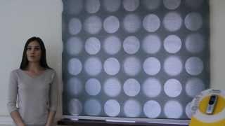 Рулонные шторы день-ночь. Ткань Эклипс. Видео.(Компания