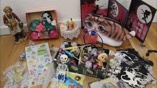 Obercoole Tauschpost von Kerstin - Kerstins Hobbykanal / Miniaturen, Harzteile, Halloween