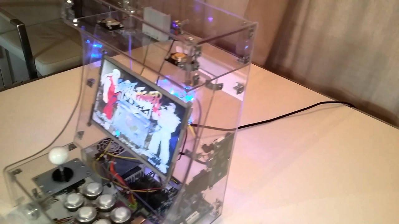 Hyperspin Bartop Plexiglass Eend86   YouTube