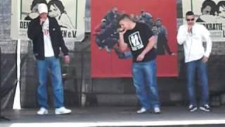Cooler Hip Hop - Rap aus Berlin - Part 3 - am Brandenburger Tor - 1.5.2010