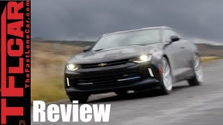 2016 Chevy Camaro Snowy Road Trip Review