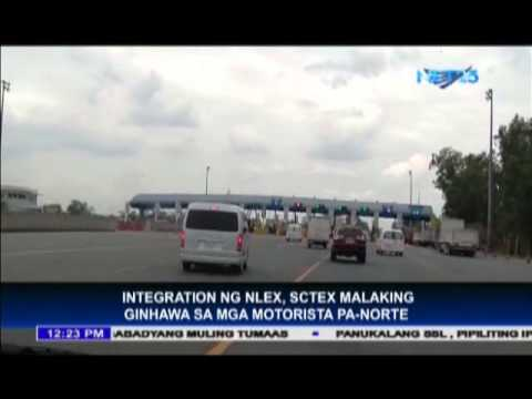 Motorists welcome NLEX-SCTEX integration