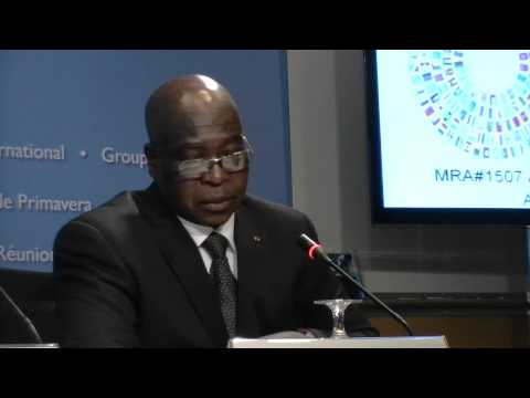 Mr. Adji Oteth Ayassor, Minister of Finance, Togo