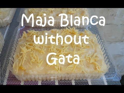 Maja Blanca without