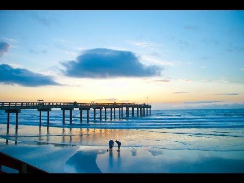 Beautiful views from St. Augustine Beach Florida (1080p HD)