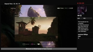 ogit5409's    Live PS4 re stream of  UNCHARTED The Nathan Drake Saga Part 3