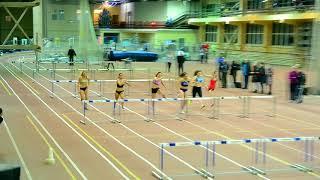 Финал на 60 м с барьерами Женщины