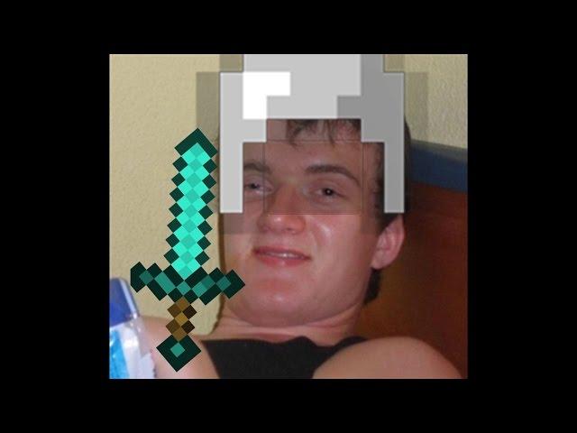 DRUNK PVP? - Minecraft Badlion 1v1s in Cinematic (F8) Mode
