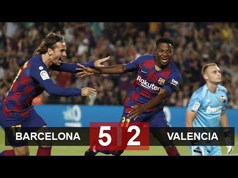 B¤c€lon¤ 5-2 V¤l€nc¡¤ |Highlights & All Goals [HD] •Golazo TV•