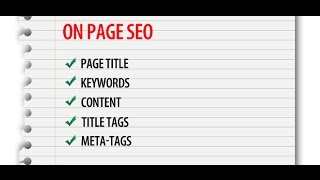 Top On-Page SEO Factors | On-Page SEO Tips