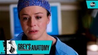 Amelia Shares a Tragic Secret with Alex - Grey's Anatomy