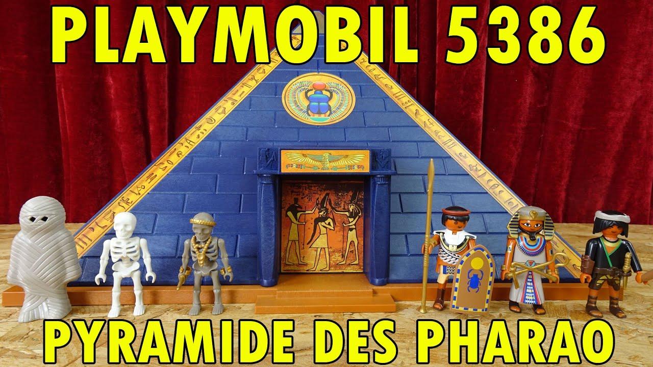 playmobil 5386 die pyramide des pharao 2016 youtube. Black Bedroom Furniture Sets. Home Design Ideas