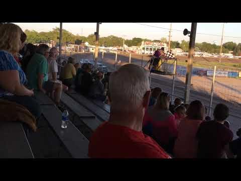 Chris & Colin Heim IMCA Stock Car Thomas County Speedway 6 2 18