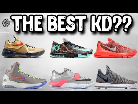 What's The Best Kd Basketball Shoe?! Looking at the Nike KD Line!