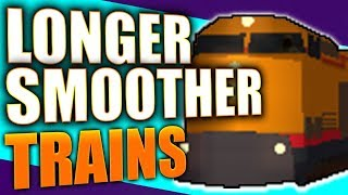 Roblox Jailbreak New Train Update: Longer Smoother Trains 2018!!
