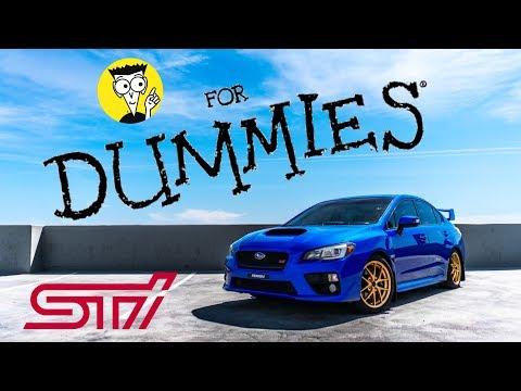 Subaru WRX STi For Dummies: A Modification Guide