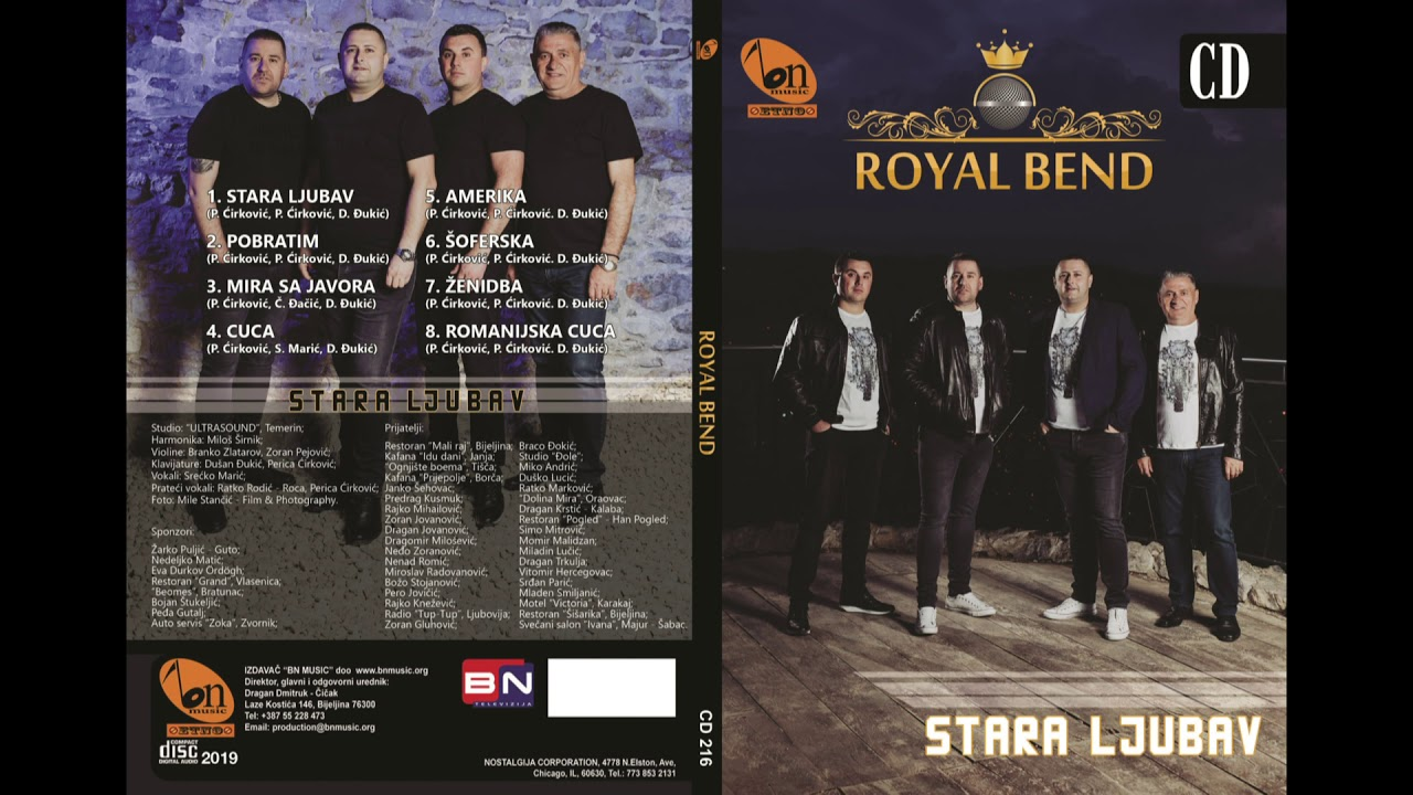 Royal Bend Pobratim BN Music Audio 2019