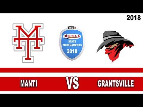 3A Girls Basketball: Manti vs Grantsville High School UHSAA 2018 State Tournament Round 1