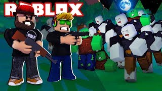 LEVELING UP SUPER FAST WITH 2X XP in ROBLOX ZOMBIE RUSH !