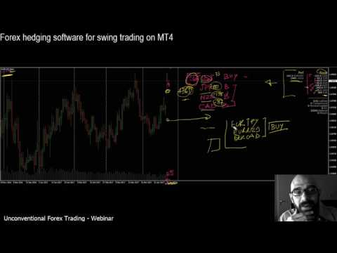 Forex hedging software for swing trading strategy: (+2300 pips) real example - 1/3 - FREE webinar