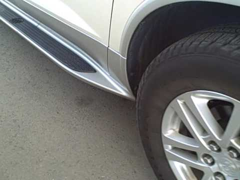 Enclave GM Running Boards - YouTube