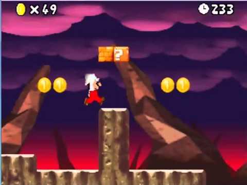 Super Mario Ds Walkthrough World 8 4 Star Coin Youtube