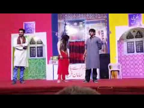 New Punjabi Stage Drama! FULL DRAMA - Afreen parri , waseem panu , Gudu Kamal 2018 - Full Comedy