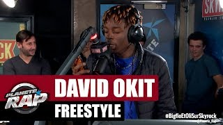 David Okit - Freestyle inédit #PlanèteRap