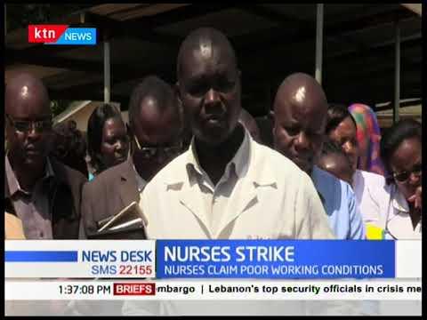 Trans-Nzoia nurses set to begin their strike tomorrow over unpaid allowances