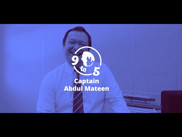 9 To 5: What's Neue With Captain Abdul Mateen of Brunei Gas Carriers (BGC)
