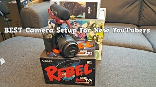 canon rebel eos t6i 750d creator kit unboxing review video test