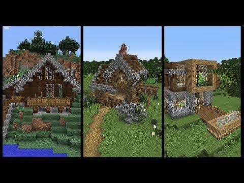 10 Minecraft Starter Houses