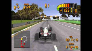 Formula 1 98 - Gameplay PSX / PS1 / PS One / HD 720P (Epsxe)