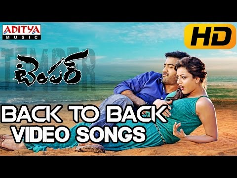 Temper Video Songs || Back to Back || Jr.Ntr,Kajal Agarwal