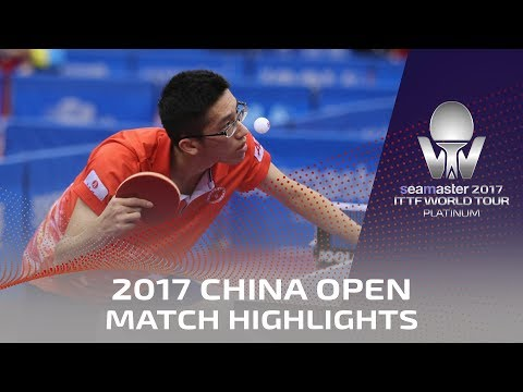 2017 China Open | Highlights Lin Gaoyuan Vs Lam Siu Hang (Pre)