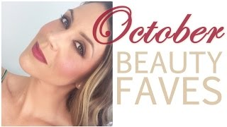 October 2014 Beauty Favourites Thumbnail