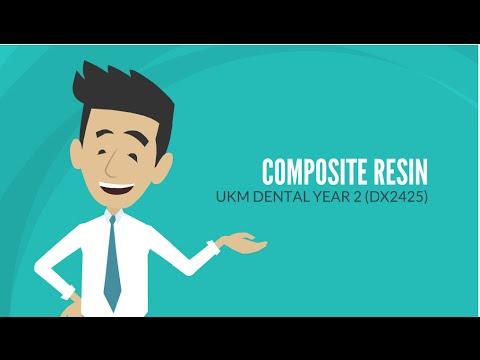 DENTAL MATERIAL : COMPOSITE RESIN 🌟
