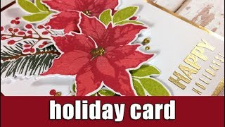 Holiday Card   Altenew September release   Giveaway