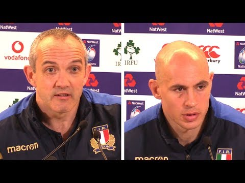 Ireland v Italy - Conor O'Shea & Sergio Parisse Full Post Match Press Conference - Six Nations