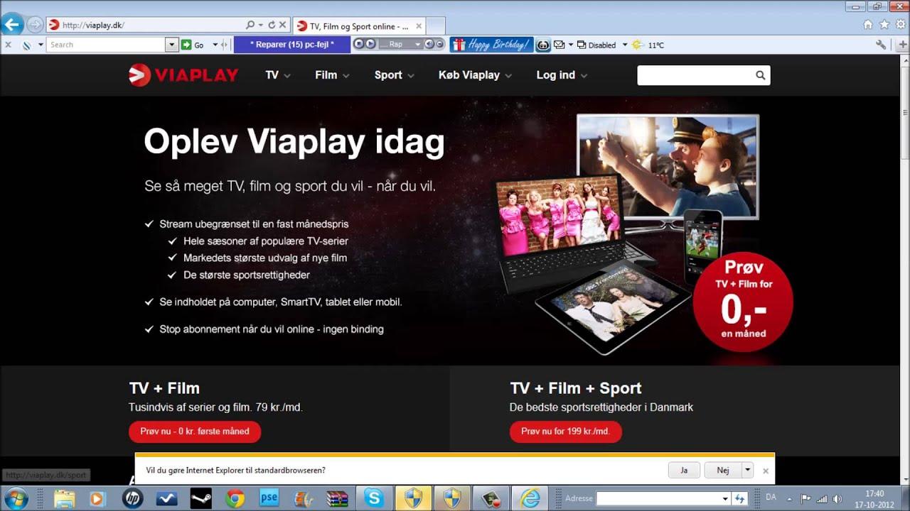 viaplay offline mac
