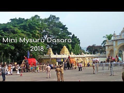 Mini Mysuru Dasara 2018 || Full Dress Rehearsal Of Mysore Dasara 2018 || Kiru Dasara